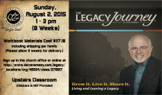 Dave Ramsay Legacy Journey