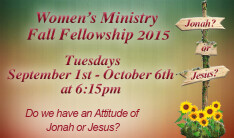 Women's Ministry Jonah Study