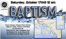 Baptism October 17, 2015