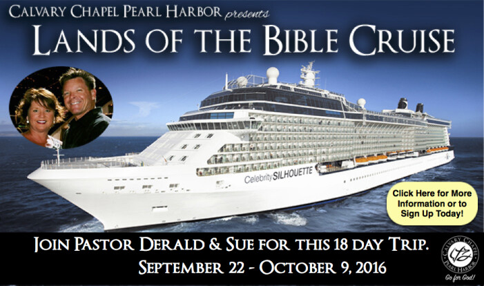 Lands of Bible Cruise 2016