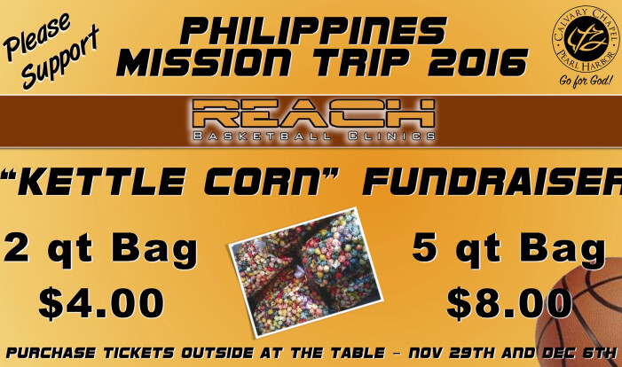 Mission Trip Fundraiser