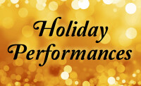 Holiday Performances