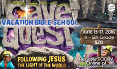 VBS 2016 Save the Date