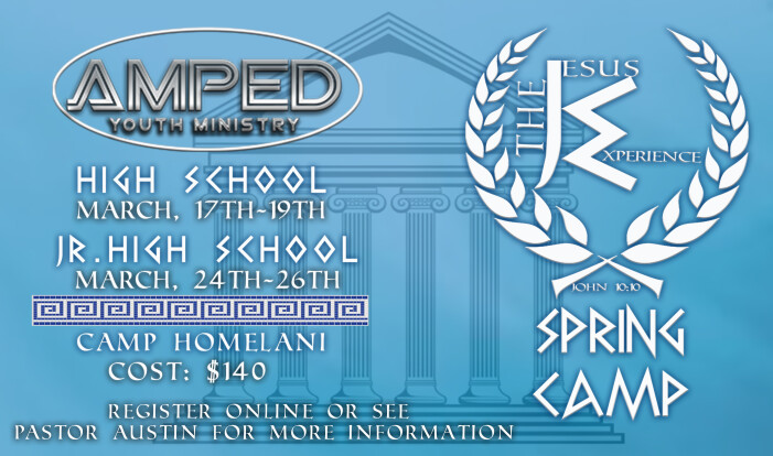 AMPED Spring Camp 2017