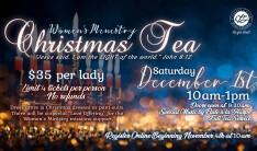 2018 Christmas Tea