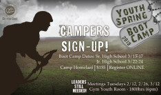 Spring Youth Camp