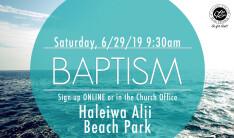 June 2019 Baptism